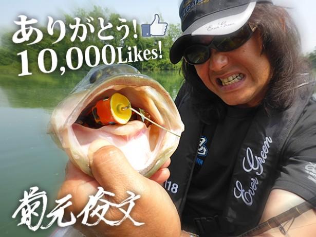 菊元1万イイネ感謝