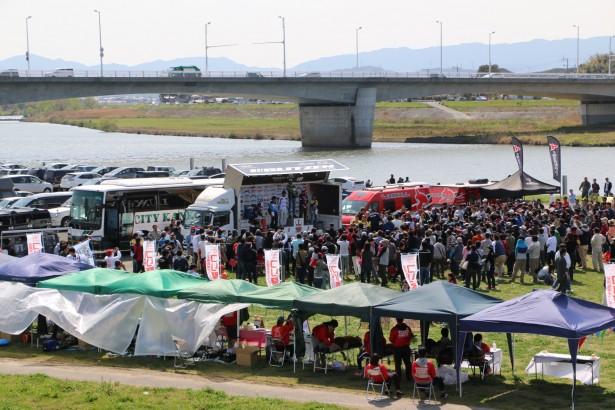 遠賀川最終日表彰