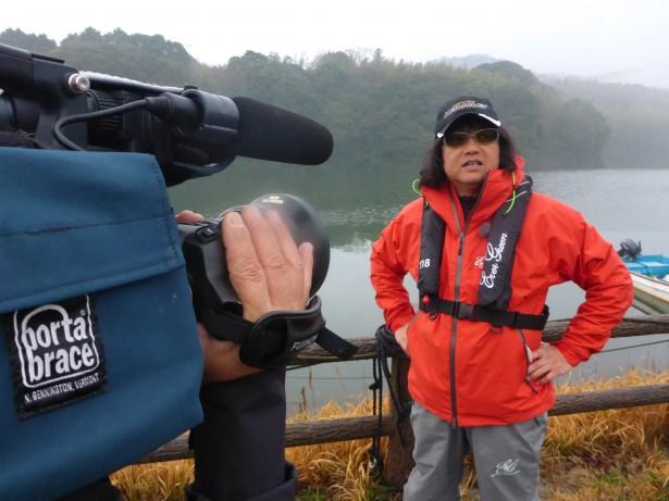 解禁日の小野湖