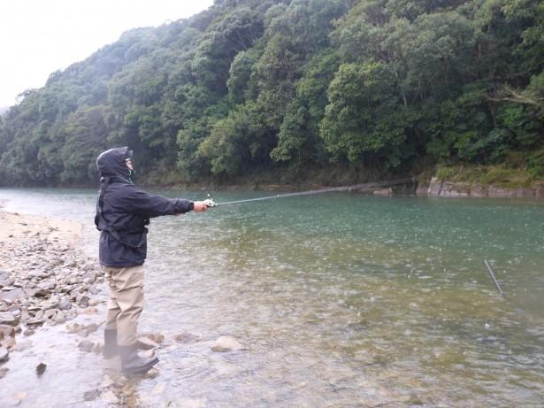 小野湖でショビネーヌ