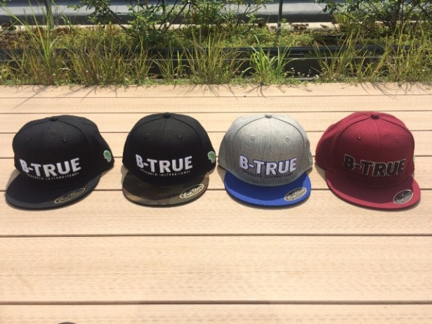 B-TRUE フラットキャップ タイプA  集合